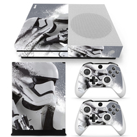 Star Wars Skin Sticker Vinyl PVC Decals For Xbox One Slim Console+2 Pcs Controller Protective Cover Decals