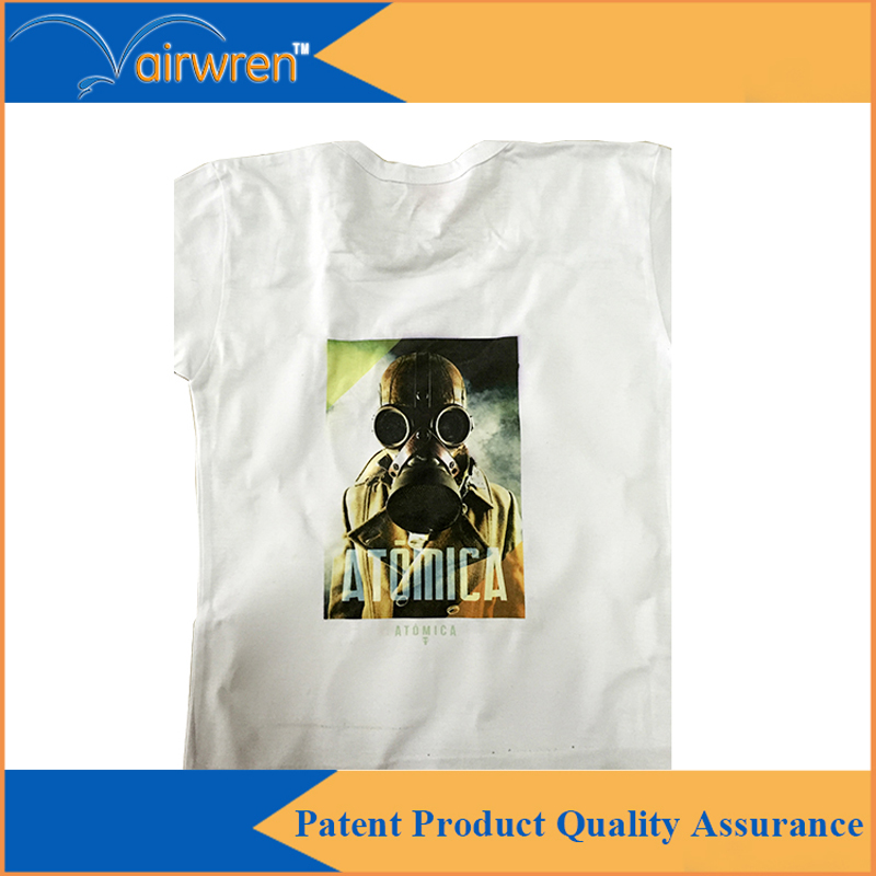 Flatbed A3 Size T shirt printer-directly printing inkjet Dtg Textile printing machine