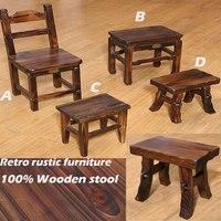 100% деревянный dinging стул, деревянная мебель, античный сад стул, ванная комната В ожидании стул,