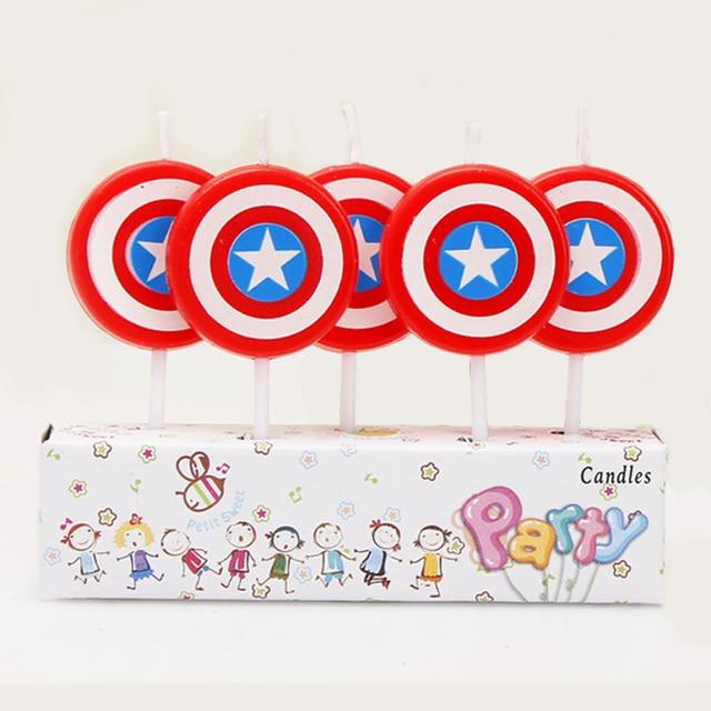 5pcs Disney Princess Sofia Baby Mickey Minnie Mouse theme kids Birthday Candle cake decoration supplies 640x640