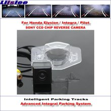 Liislee 860 * 576 Pixels Back Up Camera For Honda Elysion / Integra Pilot Rearview Parking Dynamic Guidance Tragectory