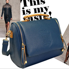 Почтальона сумочки pu твердые обложка повседневная женская сумка женщины