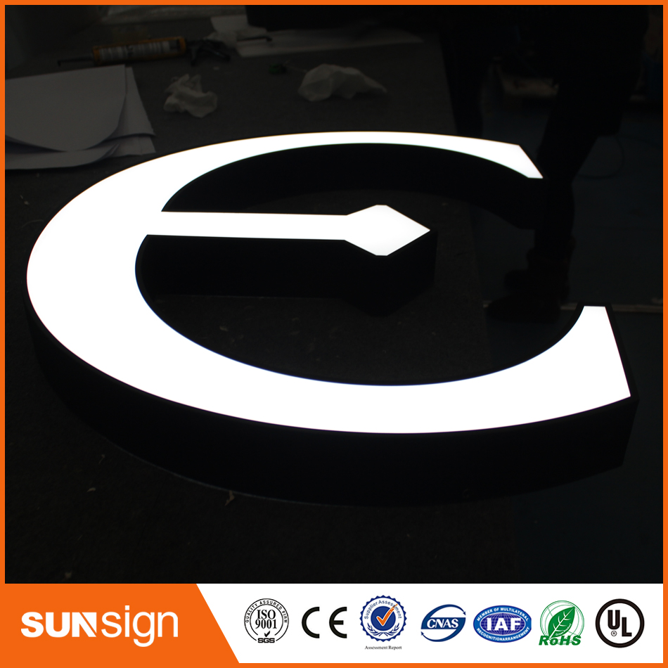 Led Aluminum Pcb Samsung Channel Letter Sign For Physical Shops