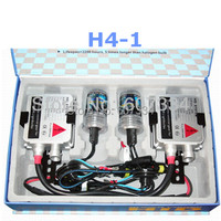 Free Shipping HID Xenon Conversion Kit H4 1 High Brightness Energy Save Single Beam 6000K 8000K