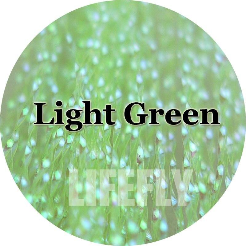 Fly Tying Krystal Flash Green