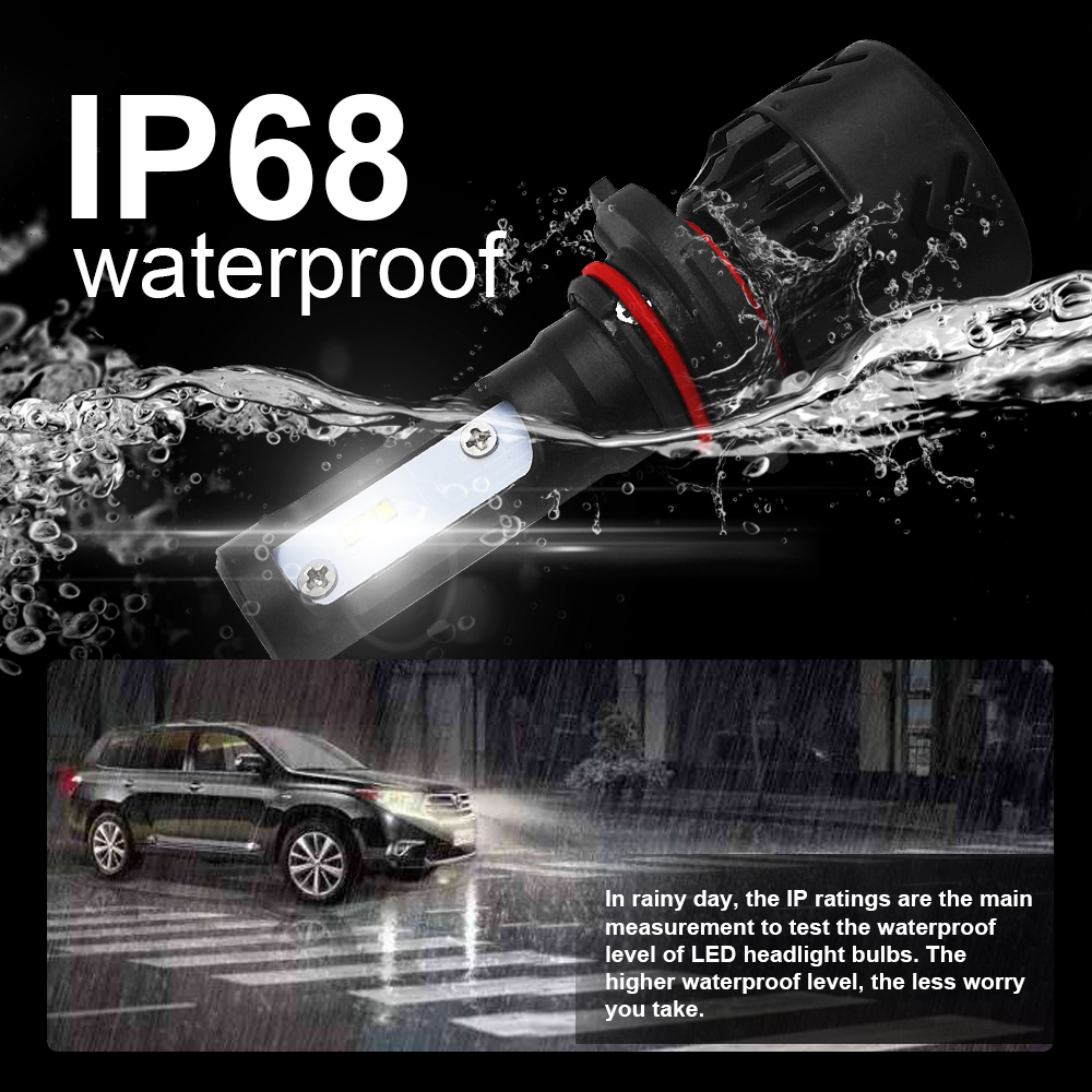 Image 5 - Roadsun LED Headlights Bulbs Led H4 H7 H11 H1 9005 9006 HB3 HB4 Lumileds ZES Chips 12V 6000K Auto Car Lamp-in Car Headlight Bulbs(LED) from Automobiles & Motorcycles
