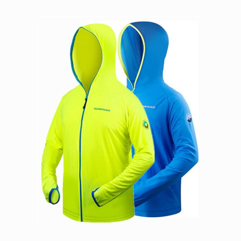 Sommar myggsäkra kläder män Anti UV Pustande Snabbtorkande utomhus - Fiske