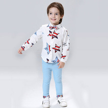 Toddler Boys Clothing Set Long Sleeve Blouse Shirt With Tie +Soft Boys Pants 2pcs Suit 2016 Boutique Kids Clothing 2-8T