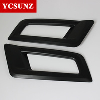 2016-2017 For Ford Everest Endeavour Tail Fog Lights Cover For Ford Everest Decorative Lamp Hood Suitable Ford Endeavour Ycsunz