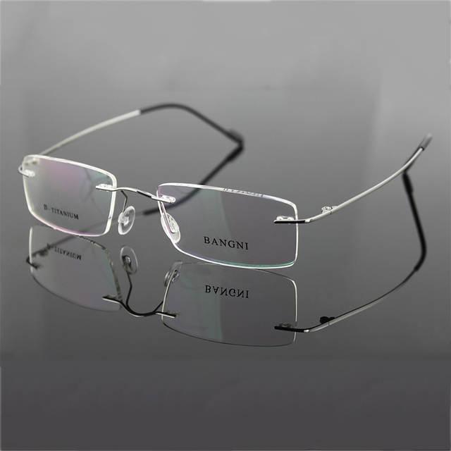 c70cfc75bb placeholder Beta titanium rimless glasses hinge non-screw flexible eyeglasses  glasses prescription spectacle optical frame 2014