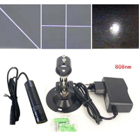 808nm 200mW Infrared Line Laser Module Interactive Projection Positioning Sight Sensor Head