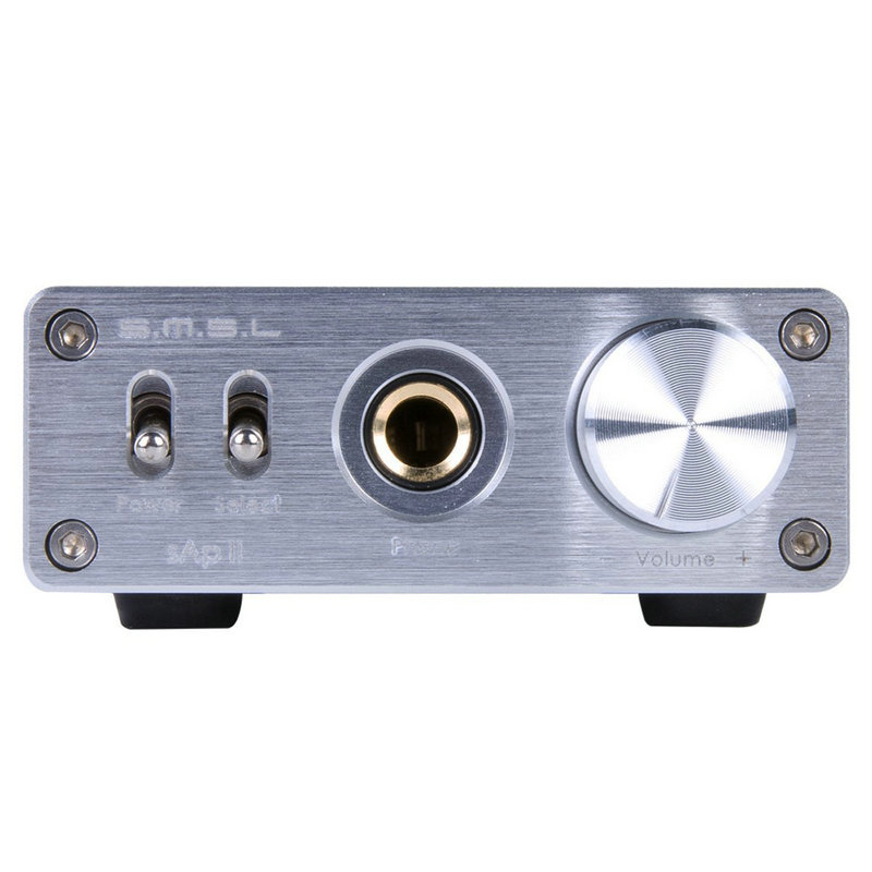 SMSL SAP II Amplificatore Per Cuffie Portatile TPA6120A2 Big Power HiFi Fidelity Amplificatore Per Cuffie Stereo con 2 Modi interruttore ingressi