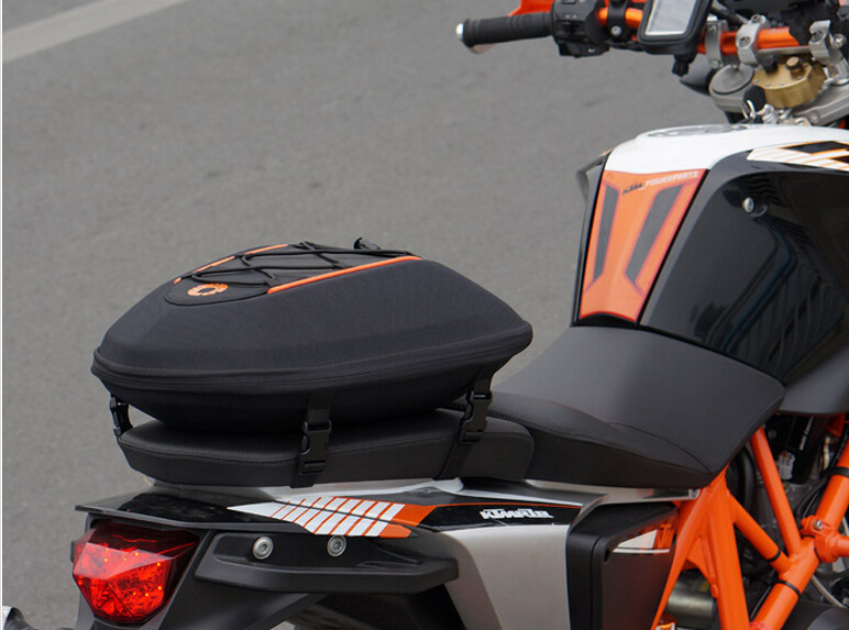 Hot sales Newest Cool uglybros rear KTM KAWASAKI motorcycle rear trunk bag pack QR hump versatile package Good quality!!