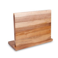 Wood Magnetic Knife Holder Creative Sanitary Clean Utility Knife Holder Storage Organizer Kitchen Bar Storage Block Knife Stand