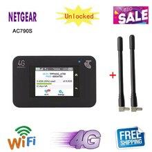Разблокированный сенсорный экран Netgear Aircard 790s(AC790S) 300 Мбит/с 4G Мобильная точка доступа wifi маршрутизатор pk 760s 762s 785s 782s