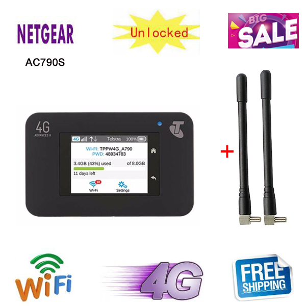 Hotspot Router Netgear Aircard Wifi 782s 790S 4G Mobile 762s 300mbps Touch-Screen Touch-Screen title=