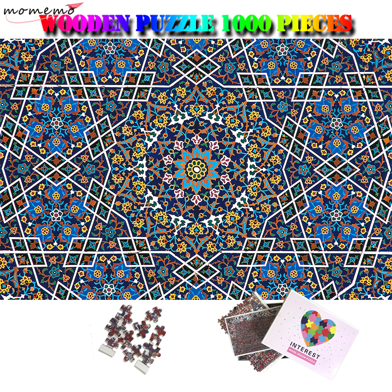 MOMEMO Flower Wooden Puzzle 1000 Pieces Jigsaw Puzzle Adults Difficult 1000 Pieces Puzzles Toys 1000 Piezas Adulto Puzzle Games