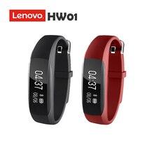 НОВЫЙ Оригинальный Lenovo HW01 Bluetooth 4.2 Смарт Браслет Сердечного Ритма Монитор Спорт Фитнес Tracker Браслет для Android iOS(China (Mainland))