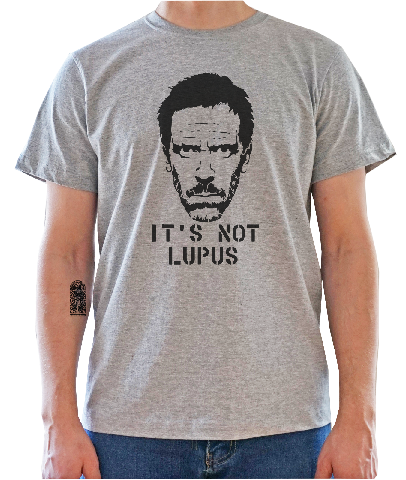 house laurie hugh md tv doctor IT/'S NOT LUPUS shirt