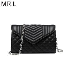 MR.L Women Bag Shoulder Bag for Women High Quality Fashion Leather Bags New Diamond Lattice Handbag Ladies Casual Crossbody Bags
