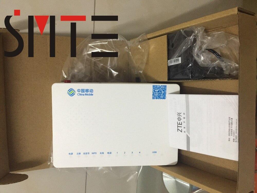 3pcs/lot ZTE ZXHN F663N GPON OUN 1GE+3FE+USB WIFI with voice new version