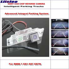 Liislee 860 Pixels Car Rear Back Up Camera For BMW 1 E81 E87 E87N / M1 F20 F21 Rearview Parking Dynamic Guidance Tragectory