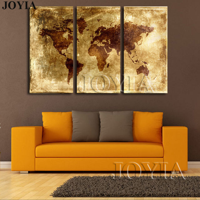 Online shop large abstract world maps canvas art print golden large abstract world maps canvas art print golden metallic earth scratch map poster pictures for wall hang decor with no frames gumiabroncs Choice Image