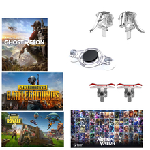 3 Types Gaming Trigger Fire Button Aim Key Mobile Joysticks Game L1R1 PUBG Shooter Controller For PUBG AOV Touch Screen Games