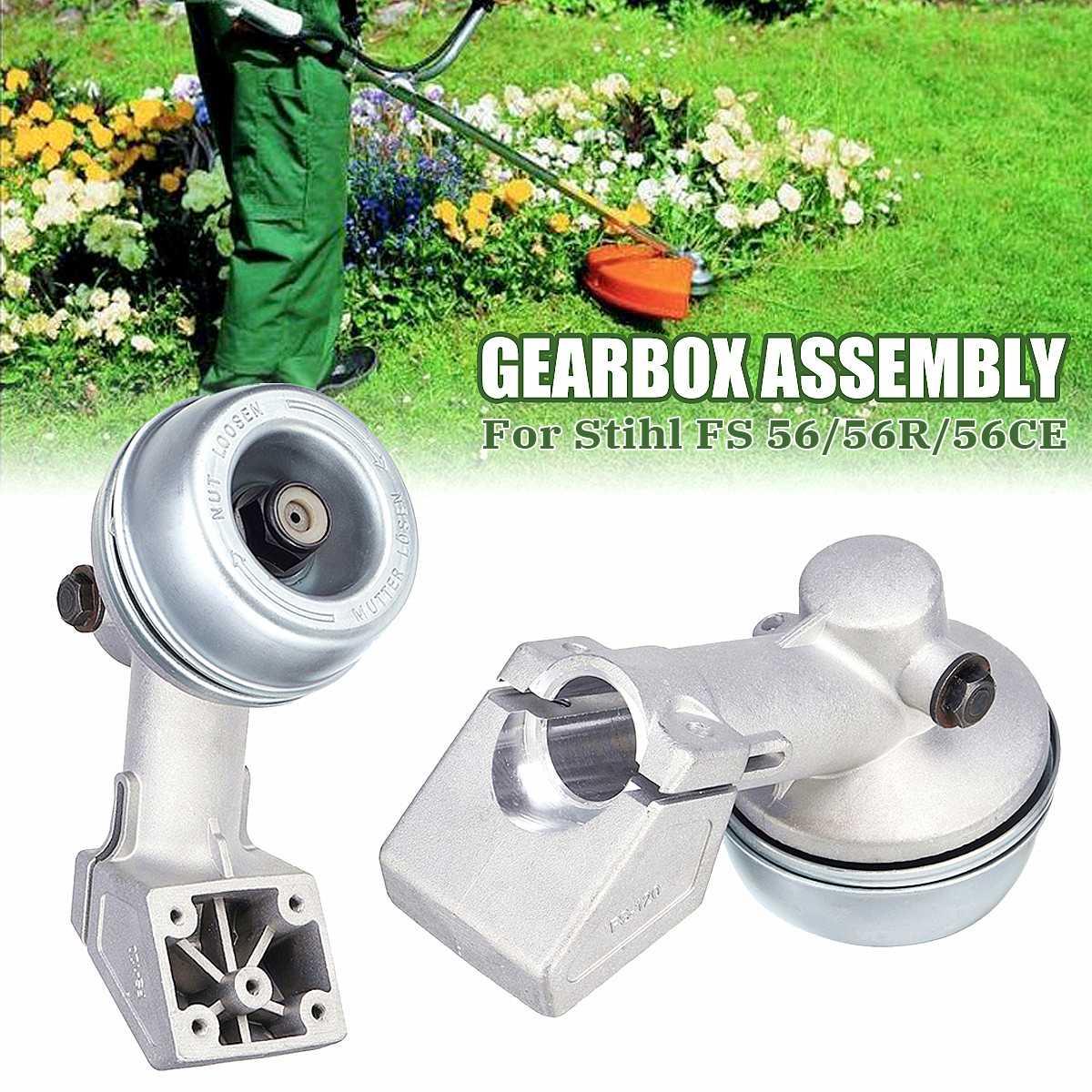 1Pcs 75x155mm Trimmer Gearbox Working Head Lawn mower gear box head Garden Tools Accessories For Stihl FS 56 56R 56CE