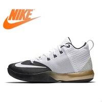 Original Authentic Nike AMBASSADOR IX LBJ Men's Breathable Basketball Shoes Sports Sneakers Sports Outdoor Comfortable Durable