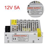 2017 New AC 110V 220V TO DC 12V 5A Switch Power Supply Adapter