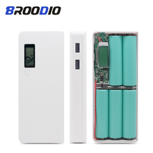 5*18650 Power Bank Case Battery Mobile Phone Charger Box Digital Display Charging shell Circuit Board DIY Kit For iPhone xiaomi цена и фото
