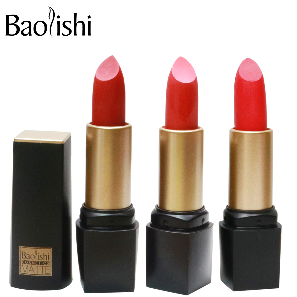 baolishi New Brand lipstick Healthy Moisturizer Smooth Waterproof - Makeup - Photo 6
