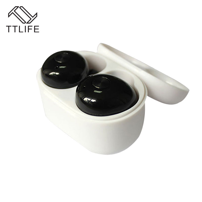 bilder für TTLIFE Twins Mini Bluetooth Kopfhörer Wireless Stereo HIFI Airpods Noise Cancelling Kopfhörer Schnellladung Mit Box Earsets