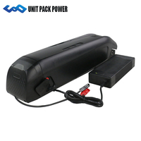 48V 750W Electric Bicycle Lithium Battery 48V 10.5Ah/10Ah for Bafang BBS02 750W 500W 350W 250W Motor Kits 48V Battery