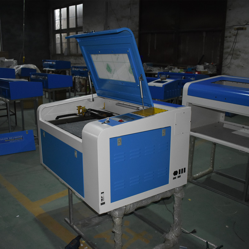 Free Shipping And Tax To Russia Res Dagestan 60W 400*600mm Co2 Laser Engraving Machine With Honeycomb Up And Down Platform