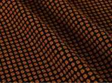 Brown honeycomb flower wool fabric suit coat ,printing Textile hollandais african sequin Christmas cloak A121