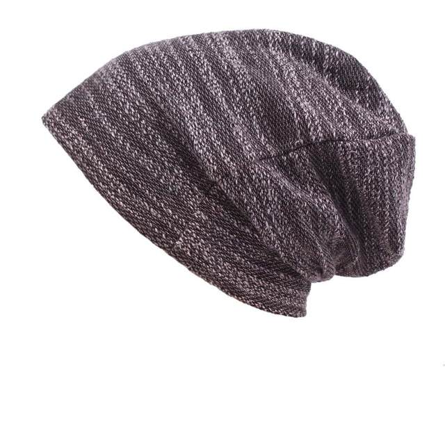 c05d9e4e0 US $8.0 25% OFF|Vintage Men Women Baggy Beanie Slouchy Knit Skull Cap Thin  Hip hop Helmet Liner Running Beanies Hat ,Fits under Helmets-in Skullies &  ...