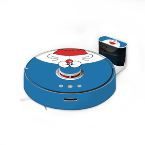 Image 5 - Cartoon Roborock S50 S51 S55 Robot Vacuum Cleaner Sticker Beautifying Protective Film Minion Orange Color Stripe Cartoon Design