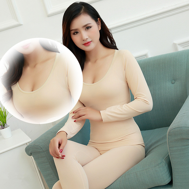 New Long Johns For Female Warm Antibacterial And Quick Drying Thermal Underwear Thermal Clothing Women Winter Termal Body Shapes