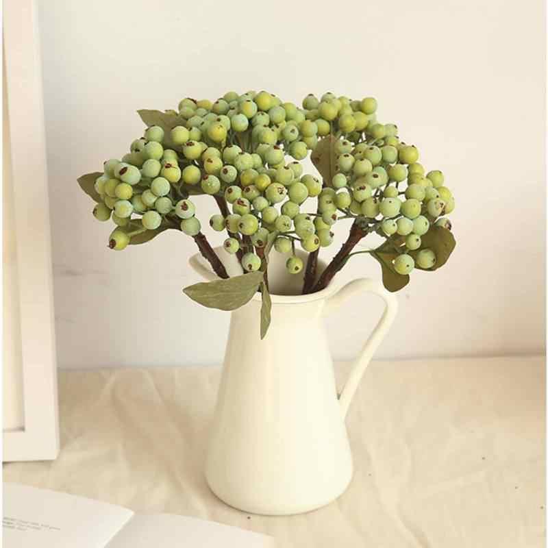 Искусственные ягоды настольные гранатовые стебли Поддельные Украшения растения