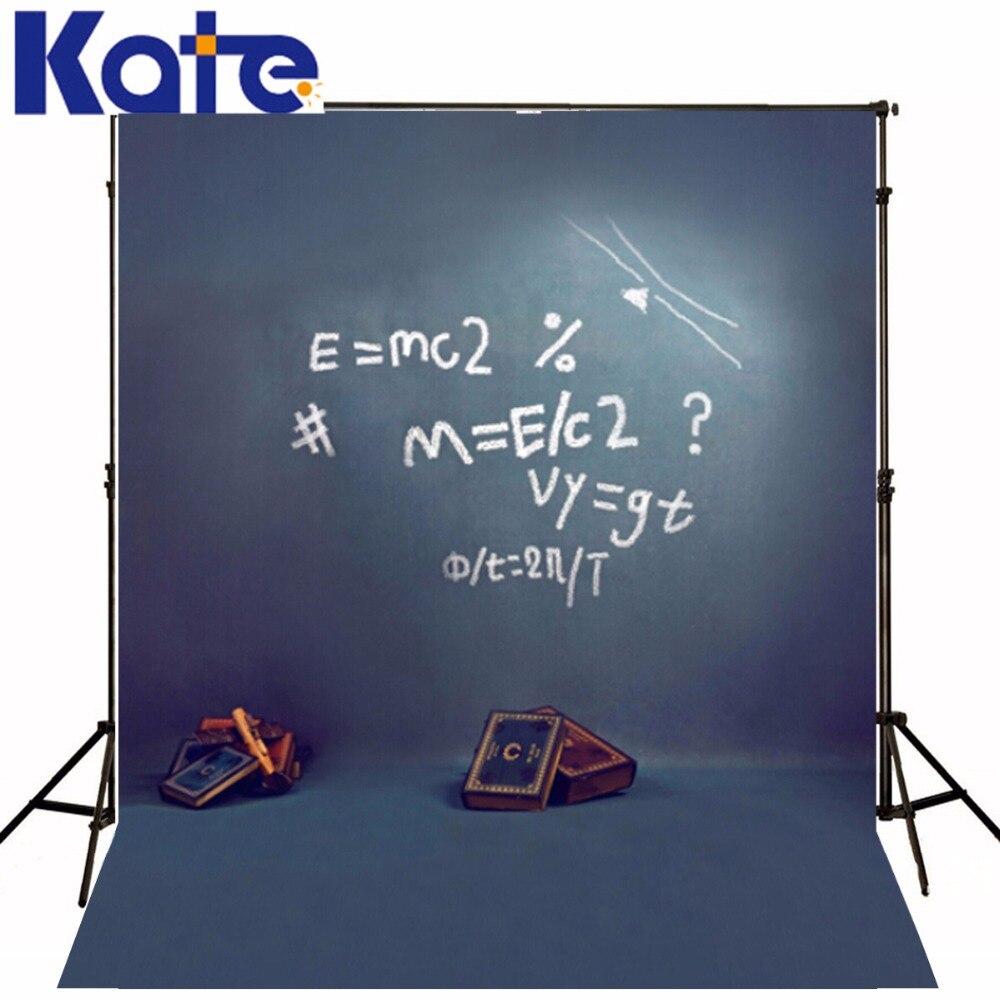 150 Cm * 200 Cm (5 * 6.5Ft) toile de fond de photographie tableau noir livre enfantine S-127 de fond de photographie pour enfants