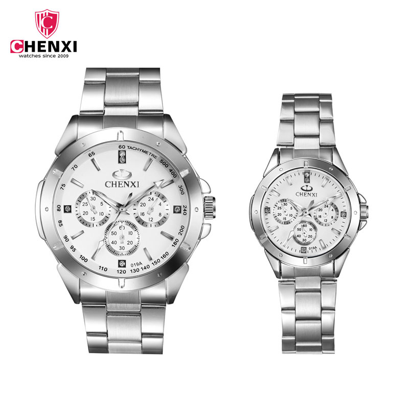 CHENXI Luxury Lover Watch Pair Waterproof Watch