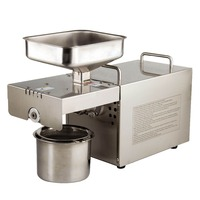 Hot seed oil press machine  Good quality Mini oil pressers Physical squeeze Peanut home oil extractor