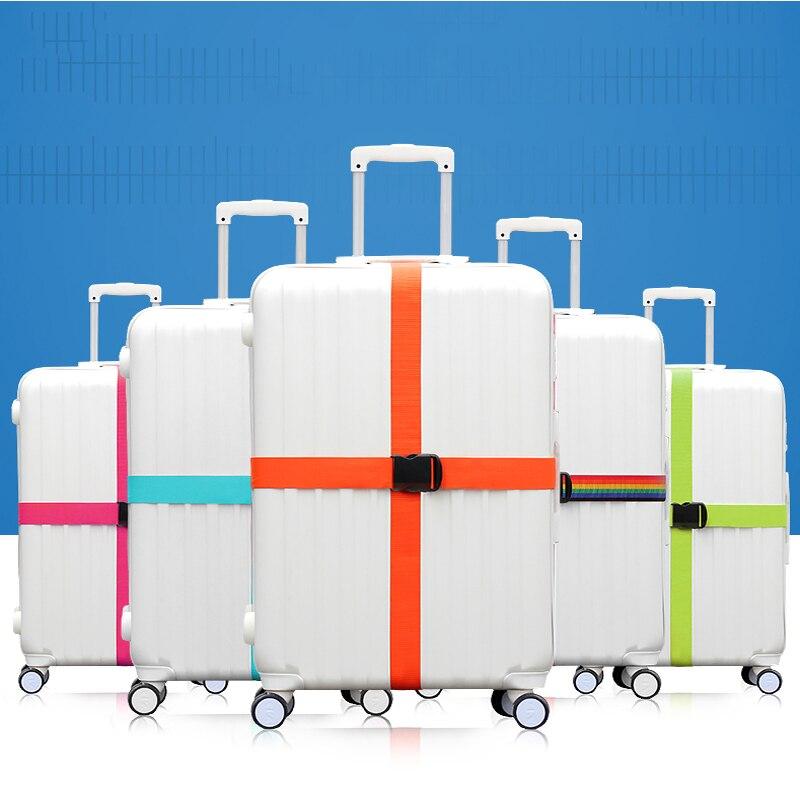 Туристические товары Бретели для нижнего белья сильный регулируемой пряжкой нейлона Чемодан пояс 18 -34 чемодан ремень 7 цветов, Бесплатная ...