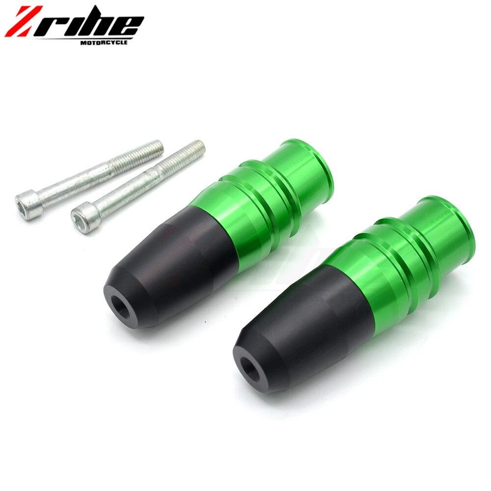 Motorcycle Frame Sliders Crash Falling Protection Anti Crash Protectors CNC Aluminum For kawasaki ninja z800 z900 z300 z250 z300