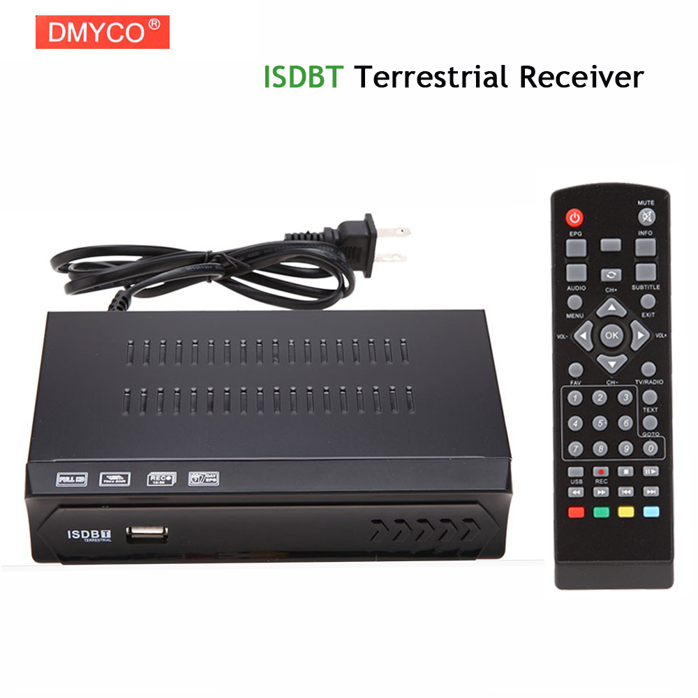ISDBT Terrestrial Receiver H.264 MPEG-2/4 HD 1080P Tv Box HDTV Integrate Services Digital Video HD TV Receiver For South America