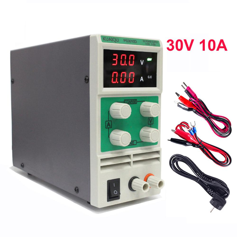 DC Power Supply Laboratory 30V 10A Led Light Universal Adjustable Source Power Supplies 24V Support 220V