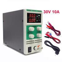 DC блок питания лаборатория 30 V 10A Универсальный светодиодный светильник Регулируемый источник питания 24 V Поддержка 220 V 110 V входные вольт PS