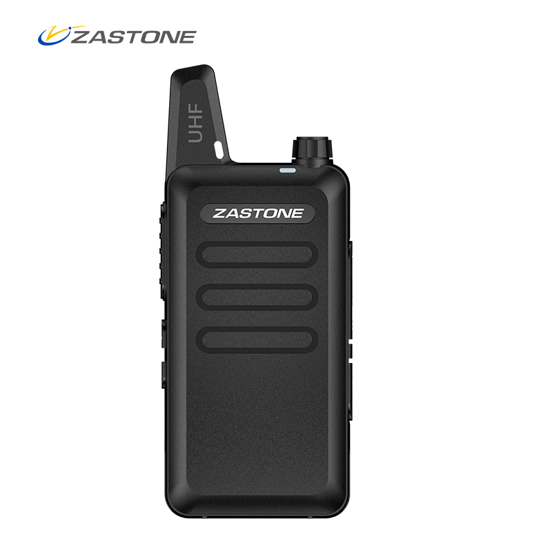 Zastone X6 Mini Walkie Talkie With Headset 400-470Mhz Frequency UHF Handheld Radios Intercom Two-Way Radio Security Equipment